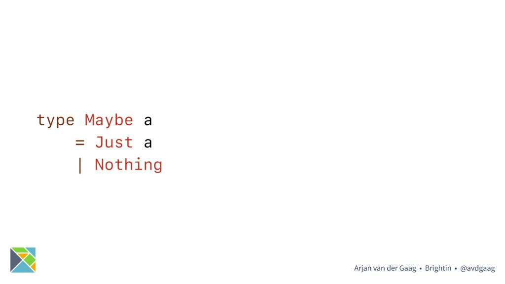 Arjan van der Gaag • Brightin • @avdgaag type M...