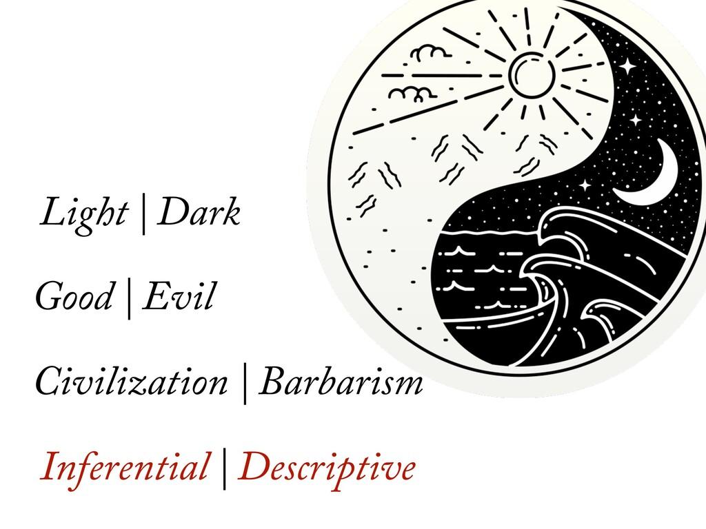 Light | Dark Good | Evil Civilization | Barbari...
