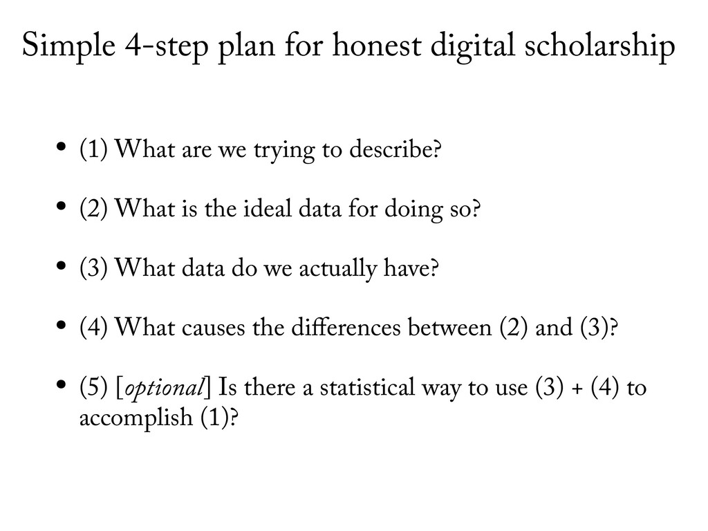 Simple 4-step plan for honest digital scholarsh...