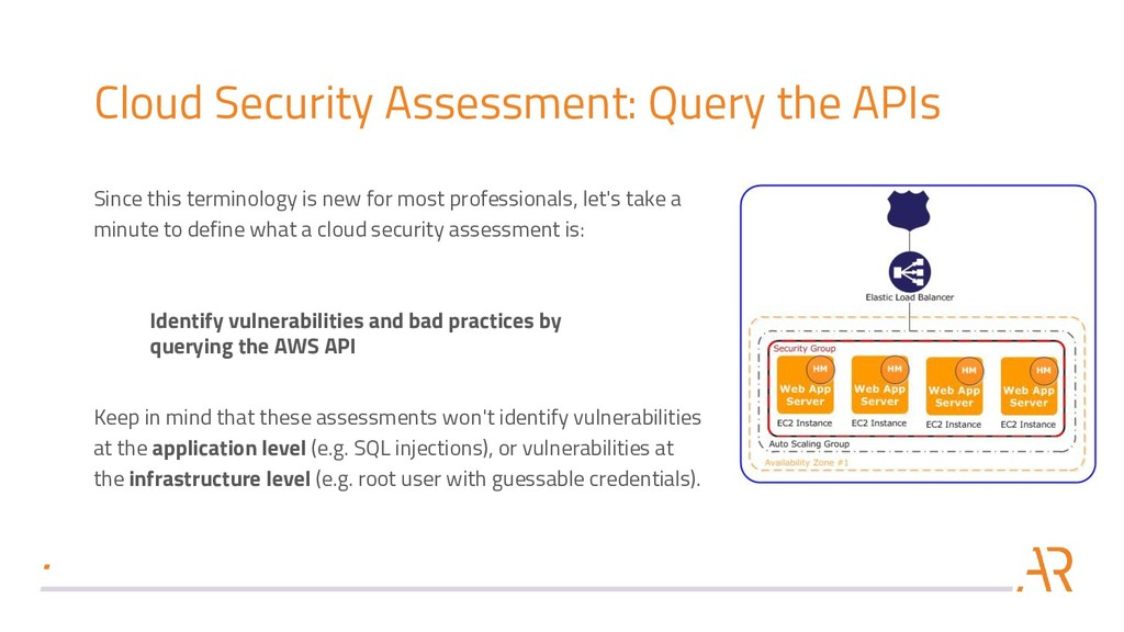 Cloud Security Assessment: Query the APIs Since...