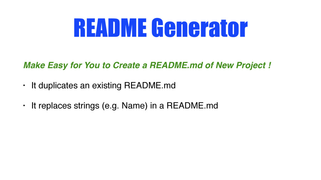 README Generator Make Easy for You to Create a ...
