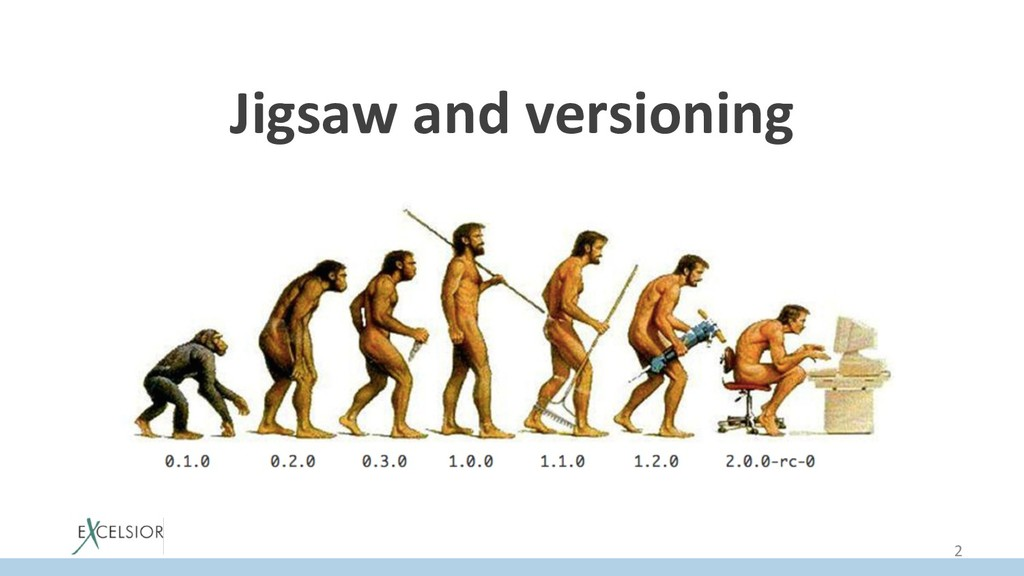 Jigsaw and versioning 2
