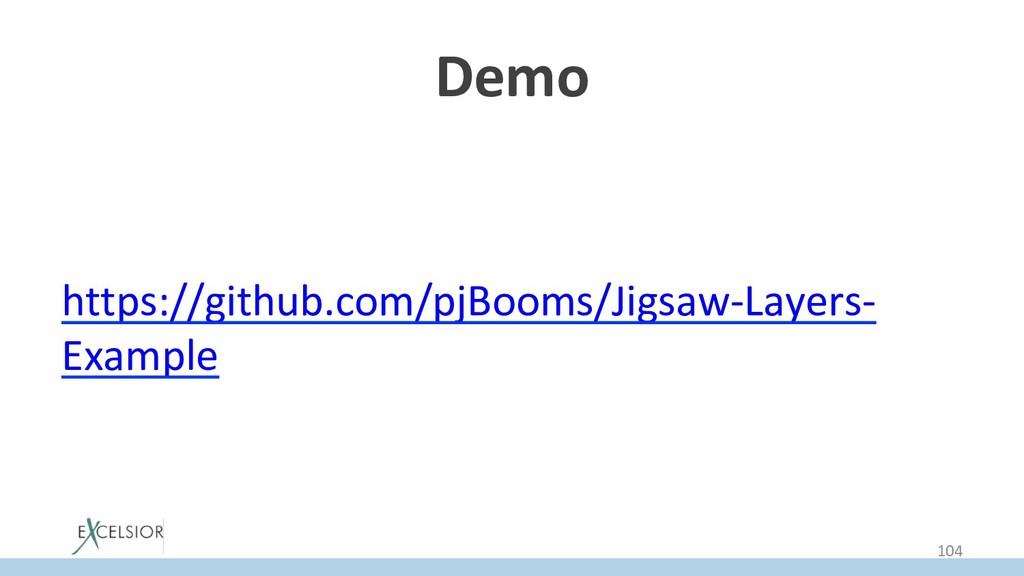 Demo https://github.com/pjBooms/Jigsaw-Layers- ...
