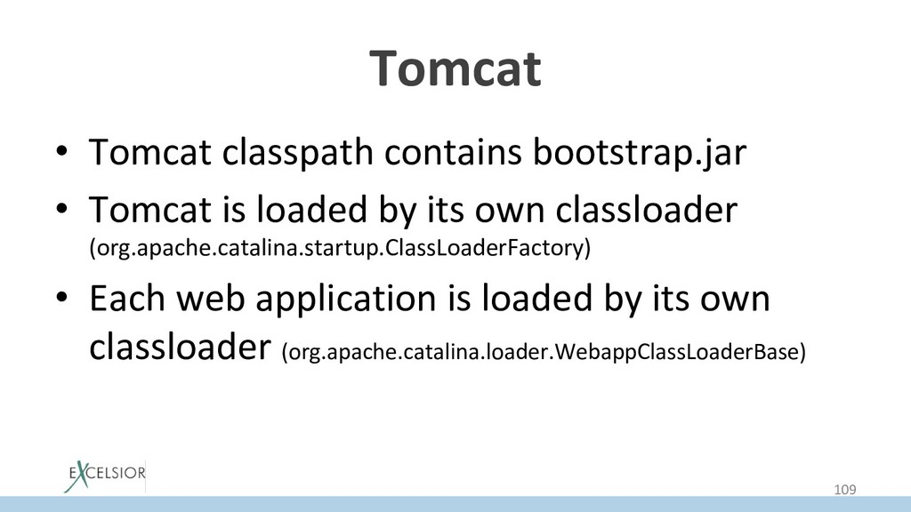 Tomcat • Tomcat classpath contains bootstrap.j...