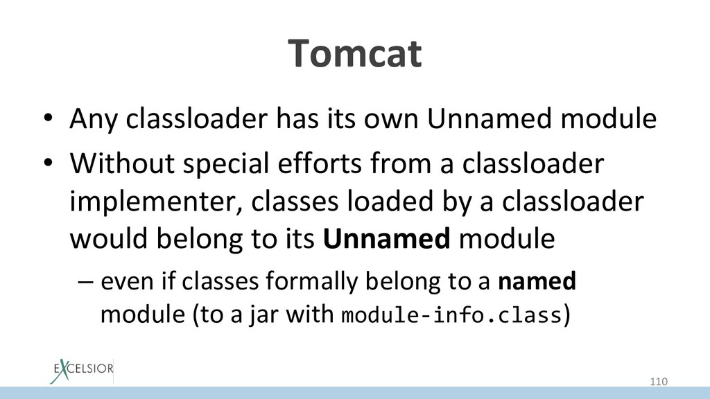 Tomcat • Any classloader has its own Unnamed m...