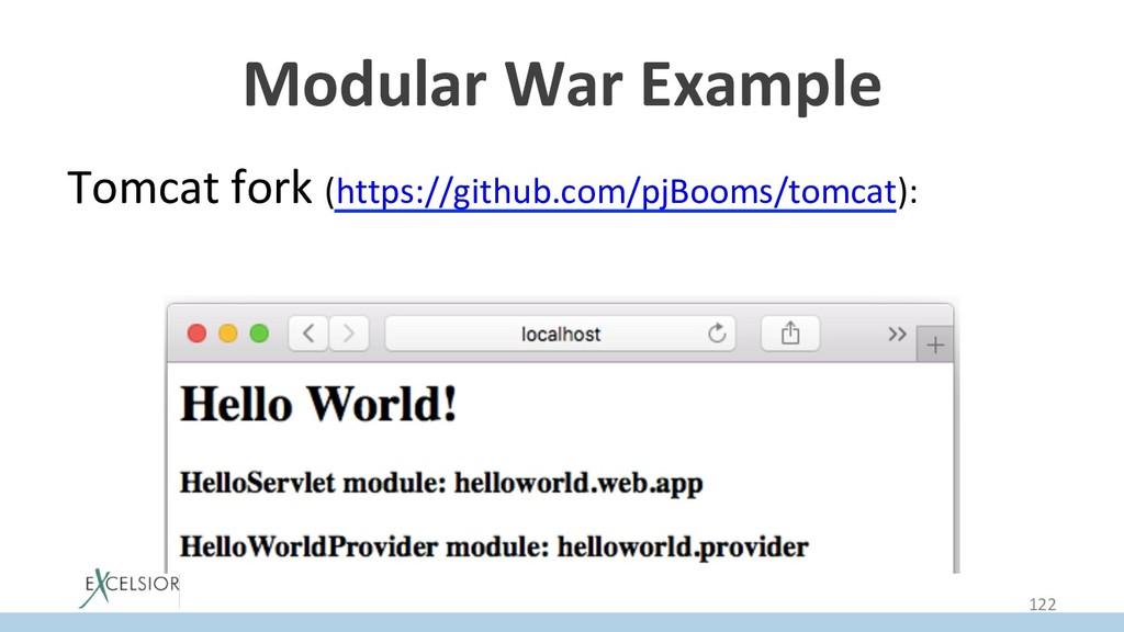 Modular War Example Tomcat fork (https://github...