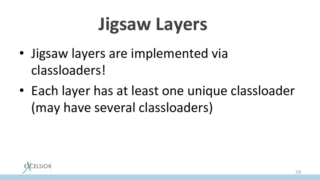 Jigsaw Layers * • Jigsaw layers are implemente...