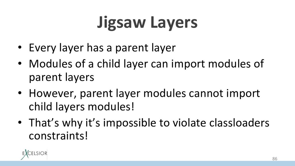 Jigsaw Layers • Every layer has a parent layer...