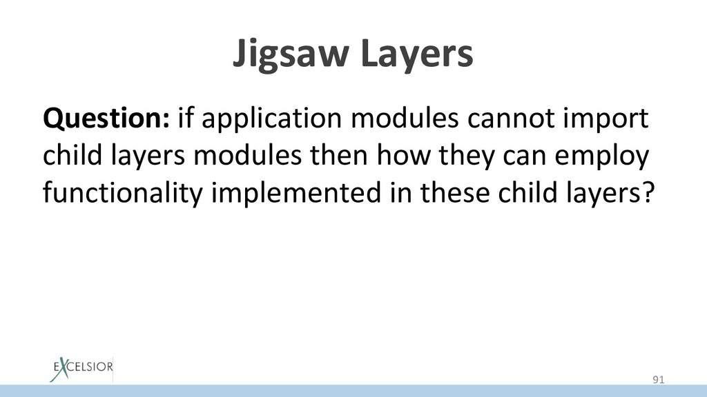 Jigsaw Layers Question: if application modules ...