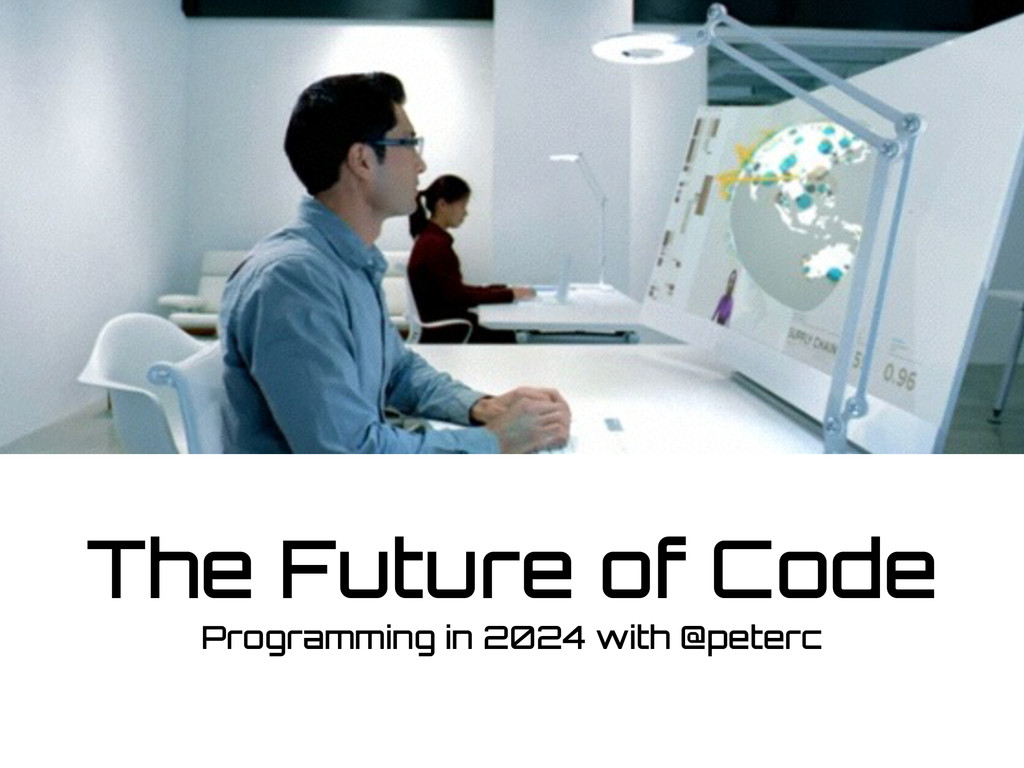 The Future of Code Programming in 2024 with @pe...