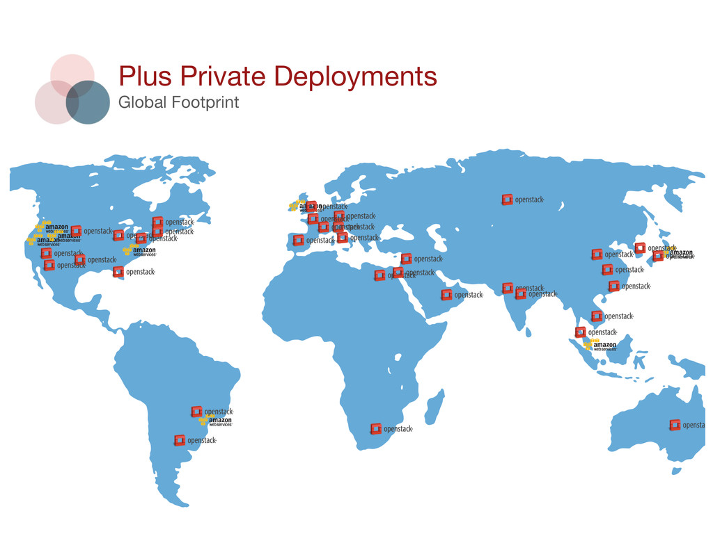 79 Plus Private Deployments Global Footprint