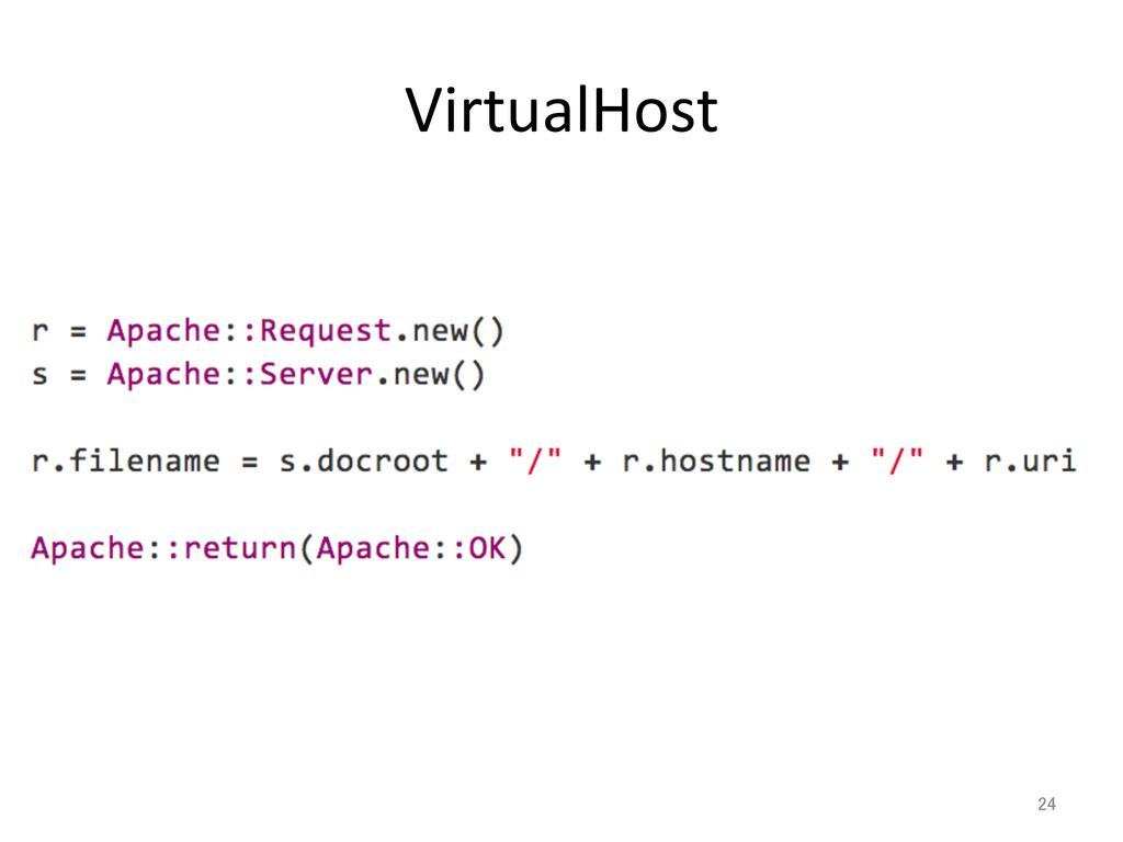 VirtualHost 24