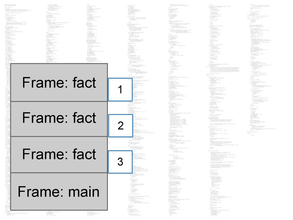 Frame: main Frame: fact 3 Frame: fact 2 Frame: ...