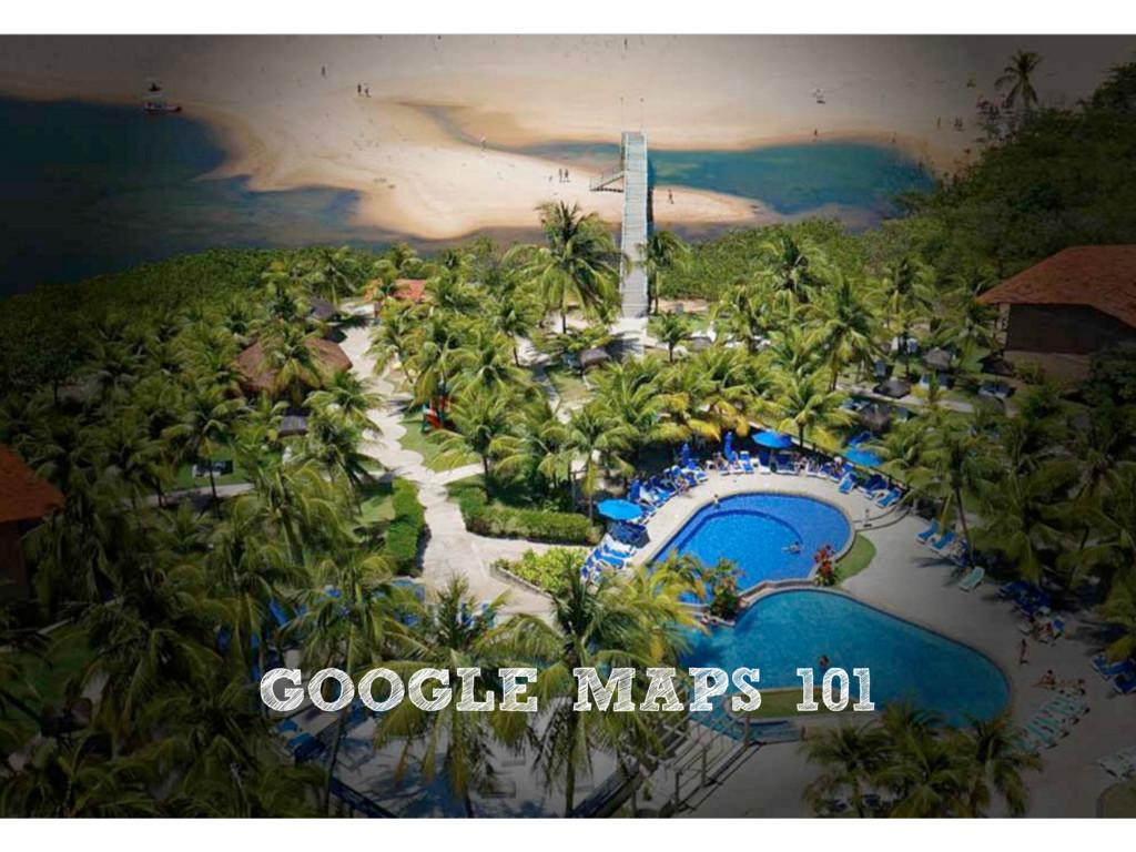 GOOGLE MAPS 101