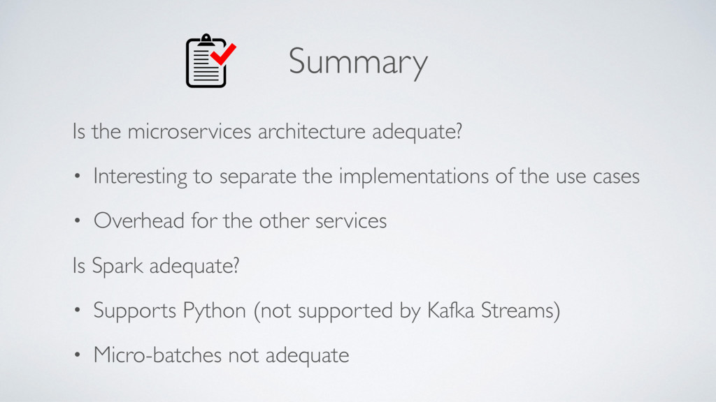 Summary Is the microservices architecture adequ...