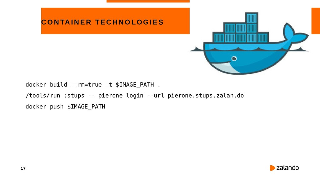 17 CONTAINE R TECHNOLOGIE S docker build --rm=t...