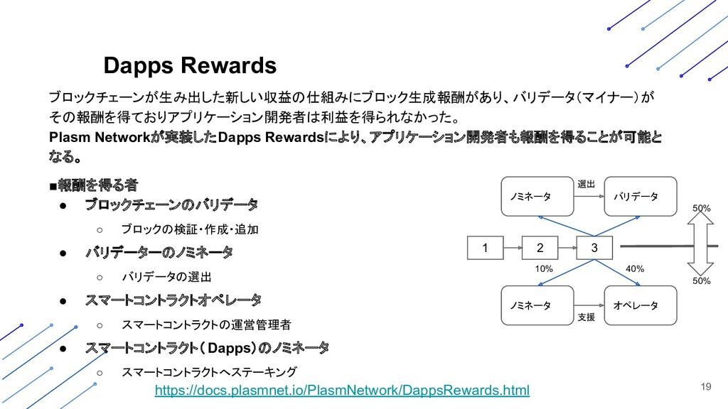 ブロックチェーンが生み出した新しい収益の仕組みにブロック生成報酬があり、バリデータ(マイナー)...