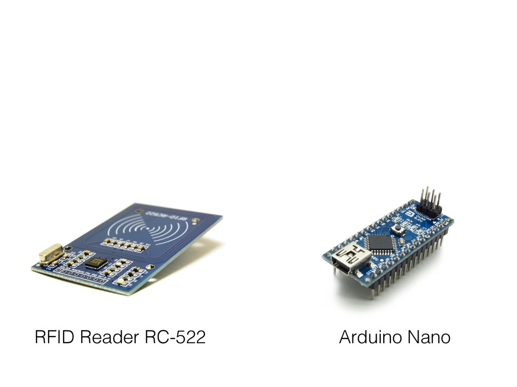 RFID Reader RC-522 Arduino Nano