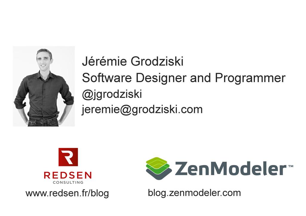 Jérémie Grodziski Software Designer and Program...