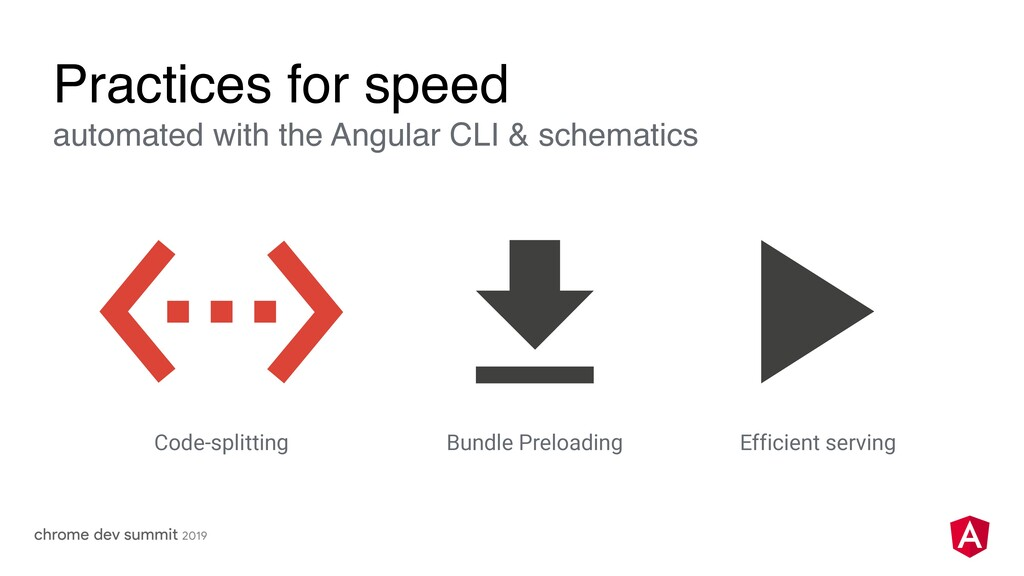 Practices for speed automated with the Angular ...