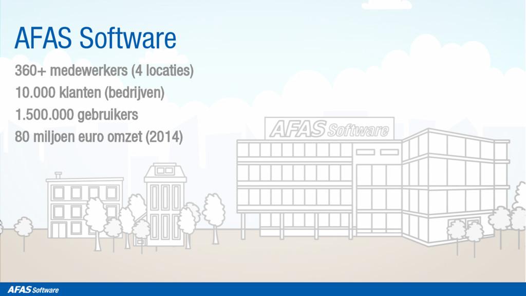 360+ medewerkers (4 locaties) 10.000 klanten (b...