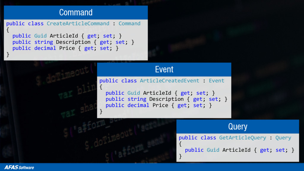 Command public class CreateArticleCommand : Com...