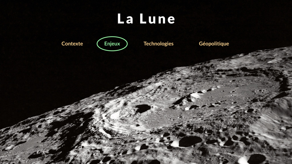 La Lune Enjeux Technologies Contexte Géopolitiq...