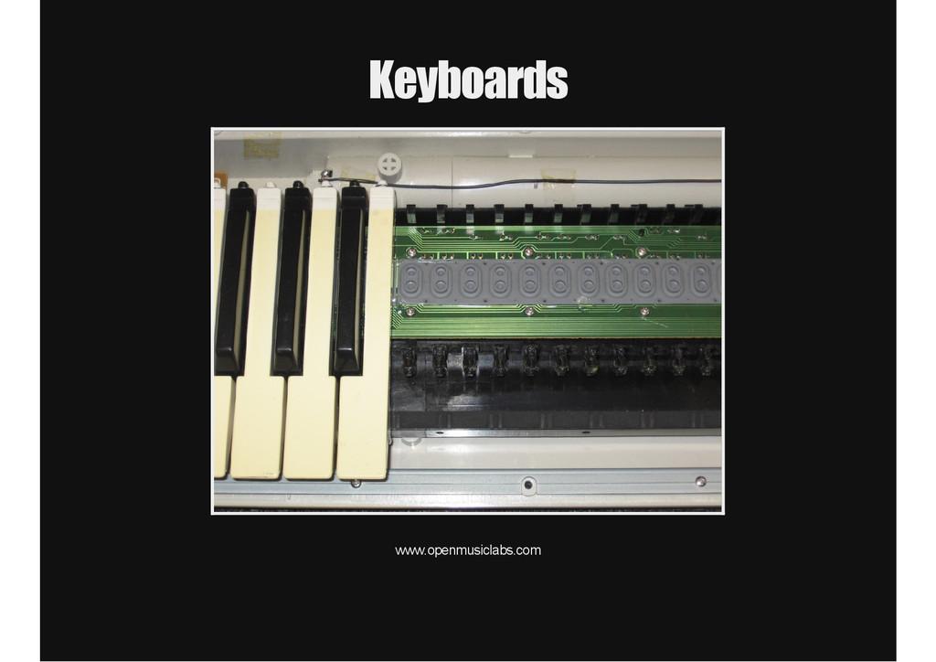Keyboards www.openmusiclabs.com