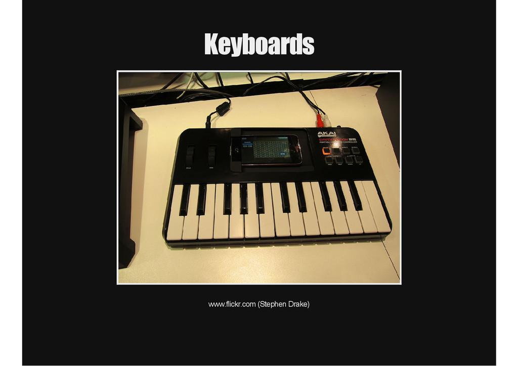 Keyboards www.flickr.com (Stephen Drake)