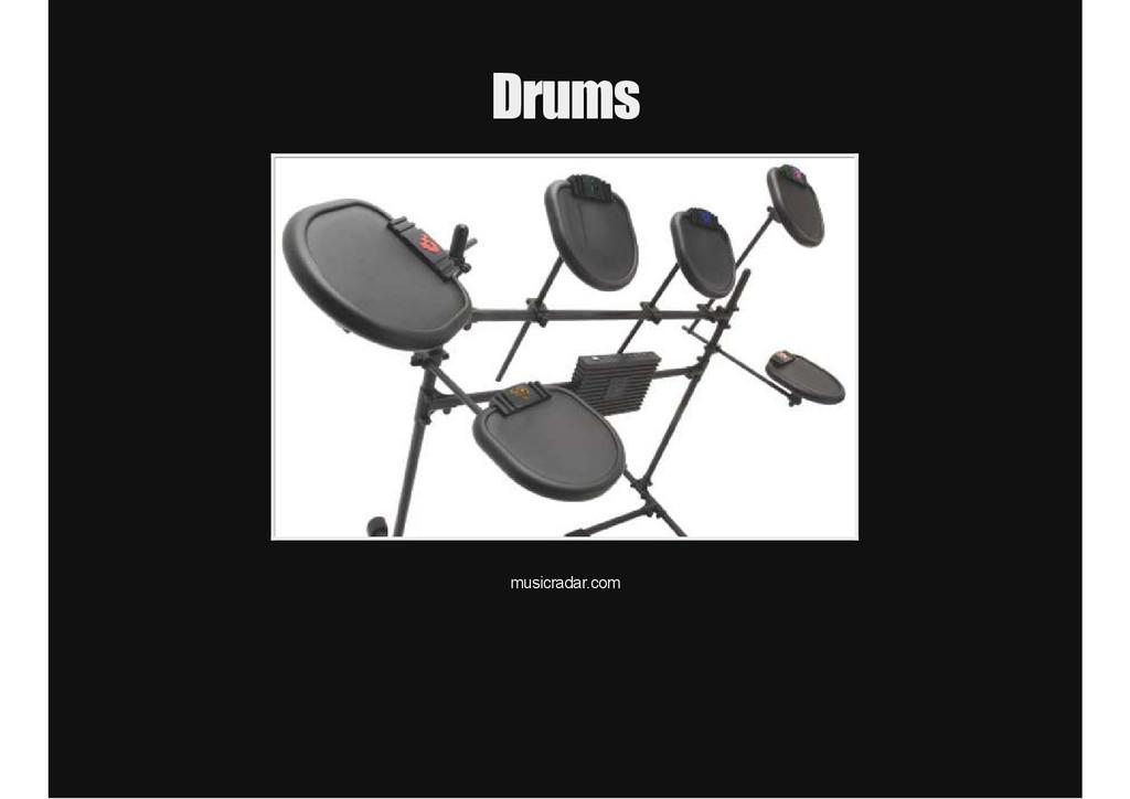 Drums musicradar.com