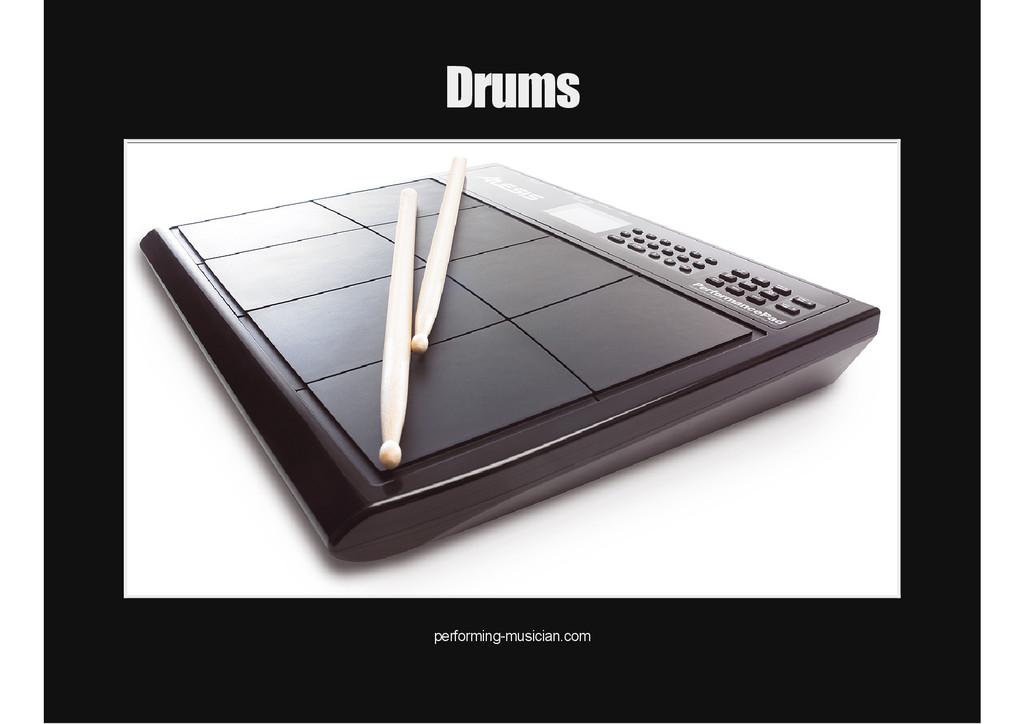 Drums performingmusician.com