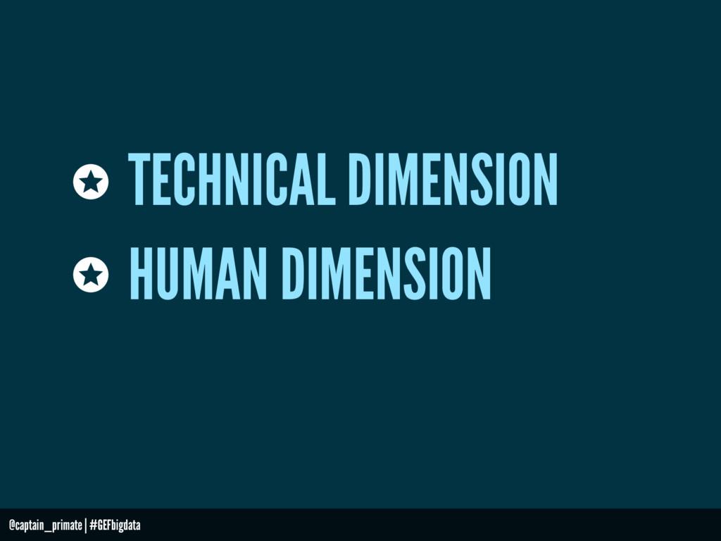TECHNICAL DIMENSION HUMAN DIMENSION @captain_pr...