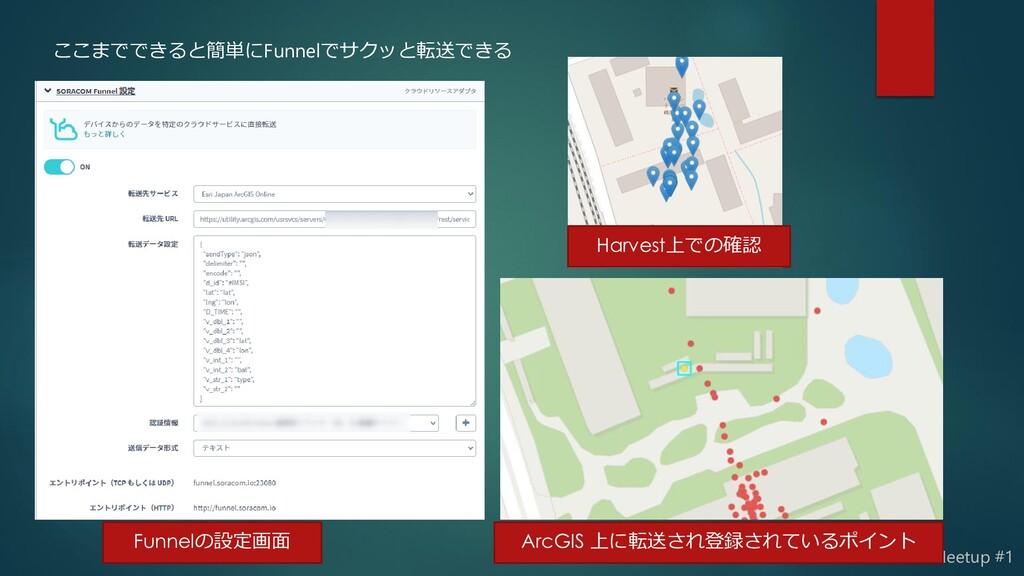 SORACOM Device Meetup #1 ここまでできると簡単にFunnelでサクッと...