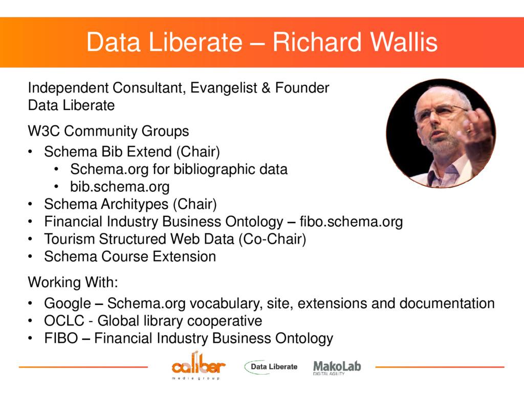 Data Liberate – Richard Wallis Independent Cons...