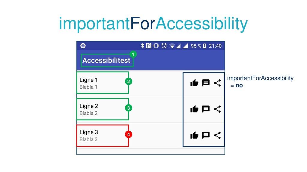 importantForAccessibility 1 2 3 4 importantForA...