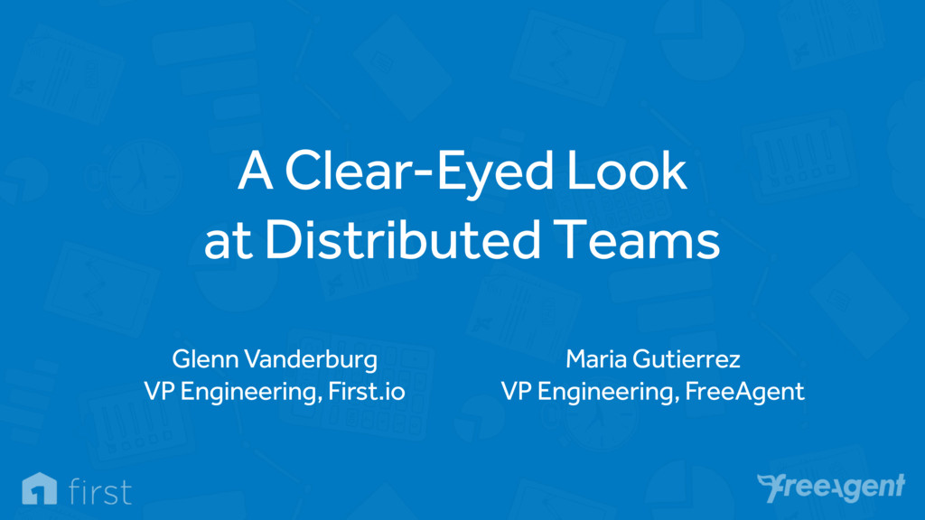 A Clear-Eyed Look
