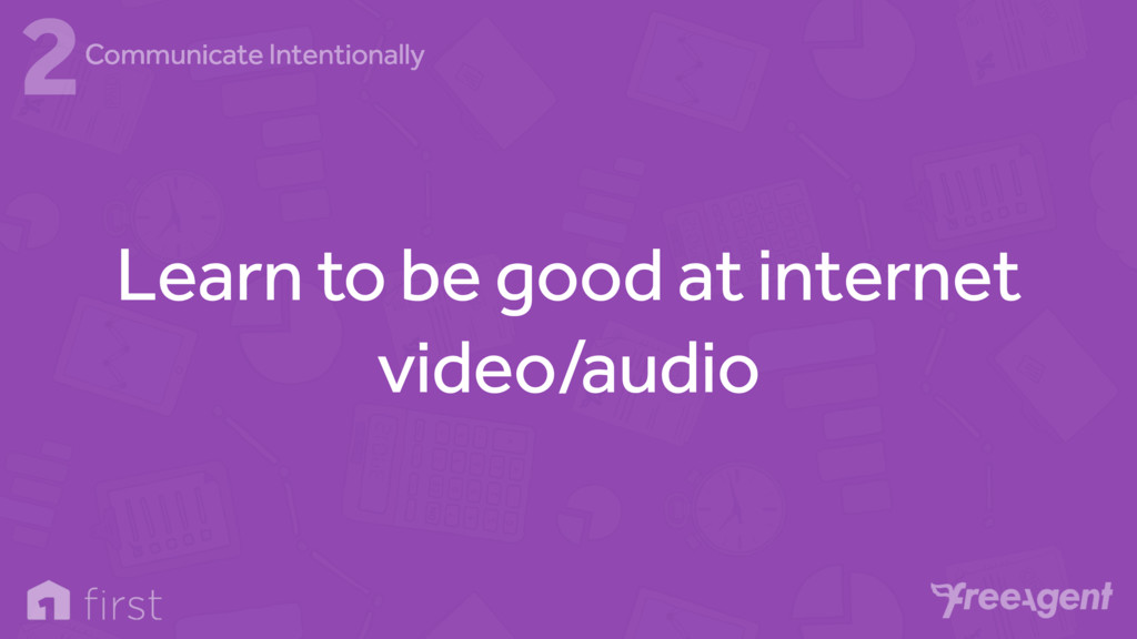 Learn to be good at internet video/audio 2Commu...