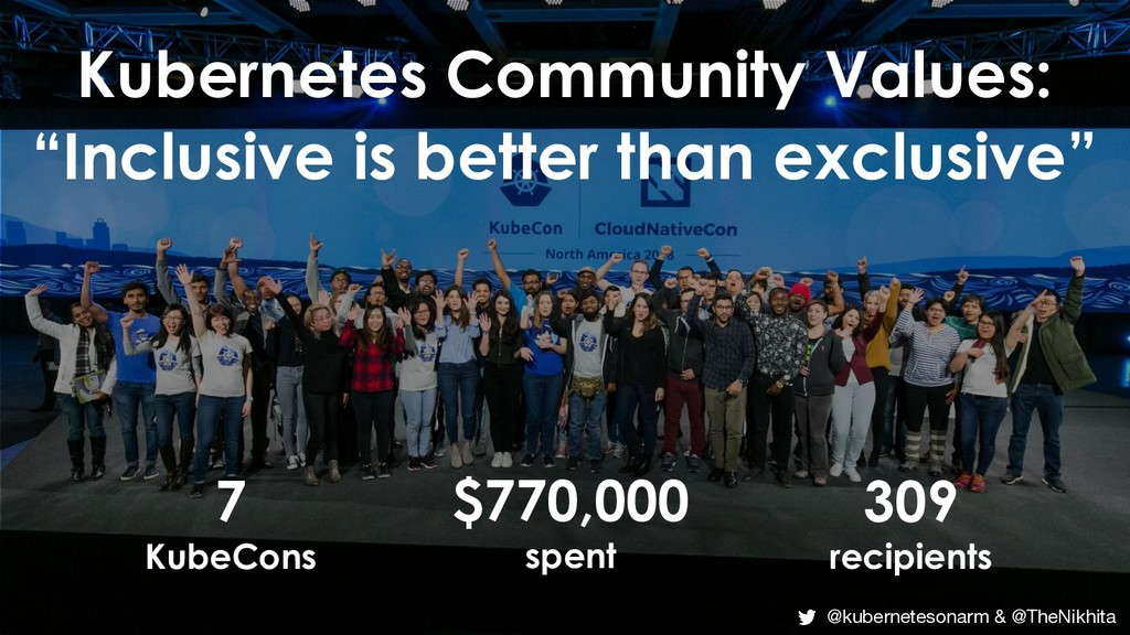 "Kubernetes Community Values: ""Inclusive is bett..."