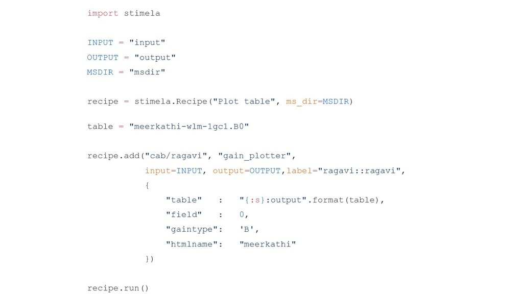"Stimela Structure import stimela INPUT = ""input..."