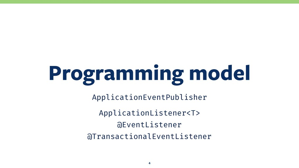 ApplicationEventPublisher ApplicationListener<T...