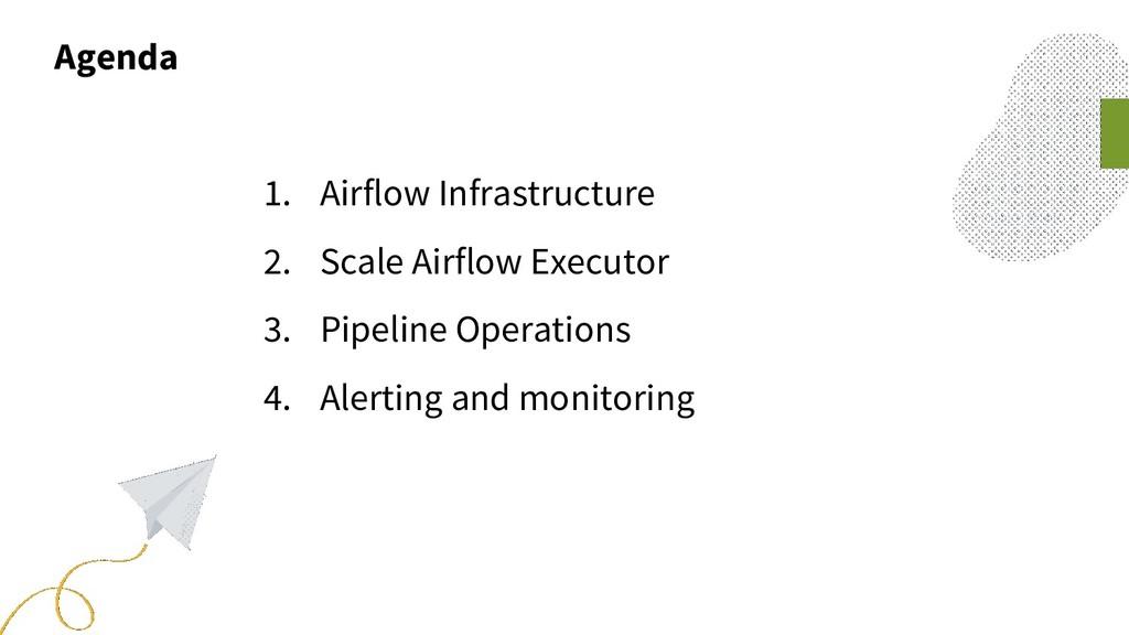 Agenda 1. Airflow Infrastructure 2. Scale Airfl...