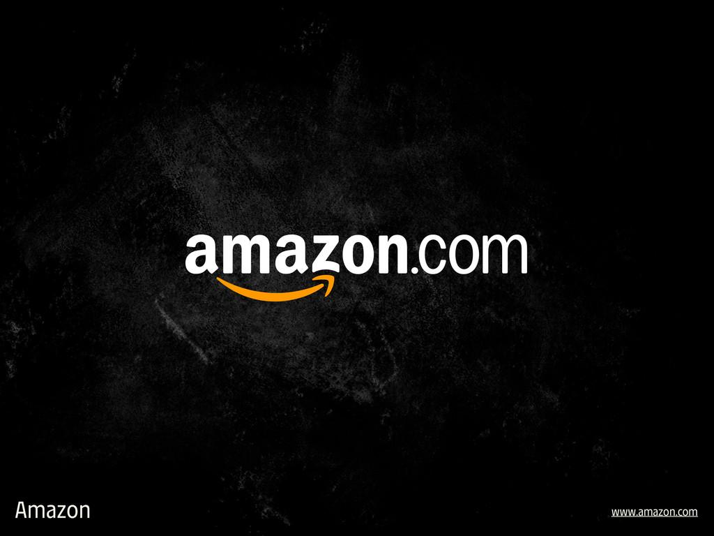 Amazon www.amazon.com