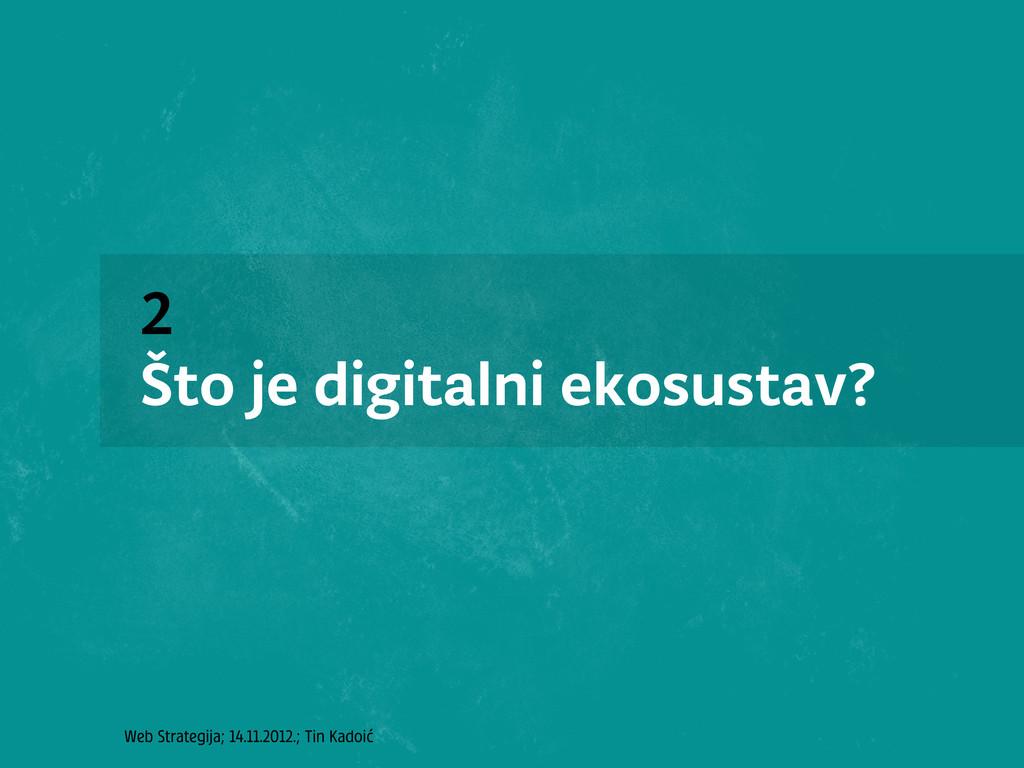 Web Strategija; 14.11.2012.; Tin Kadoić 2 Što j...