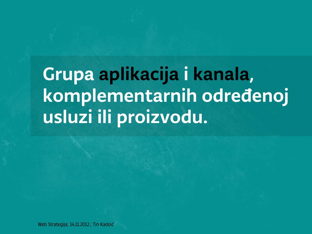 Web Strategija; 14.11.2012.; Tin Kadoić Grupa a...