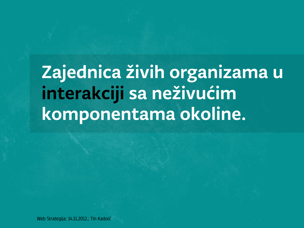 Web Strategija; 14.11.2012.; Tin Kadoić Zajedni...
