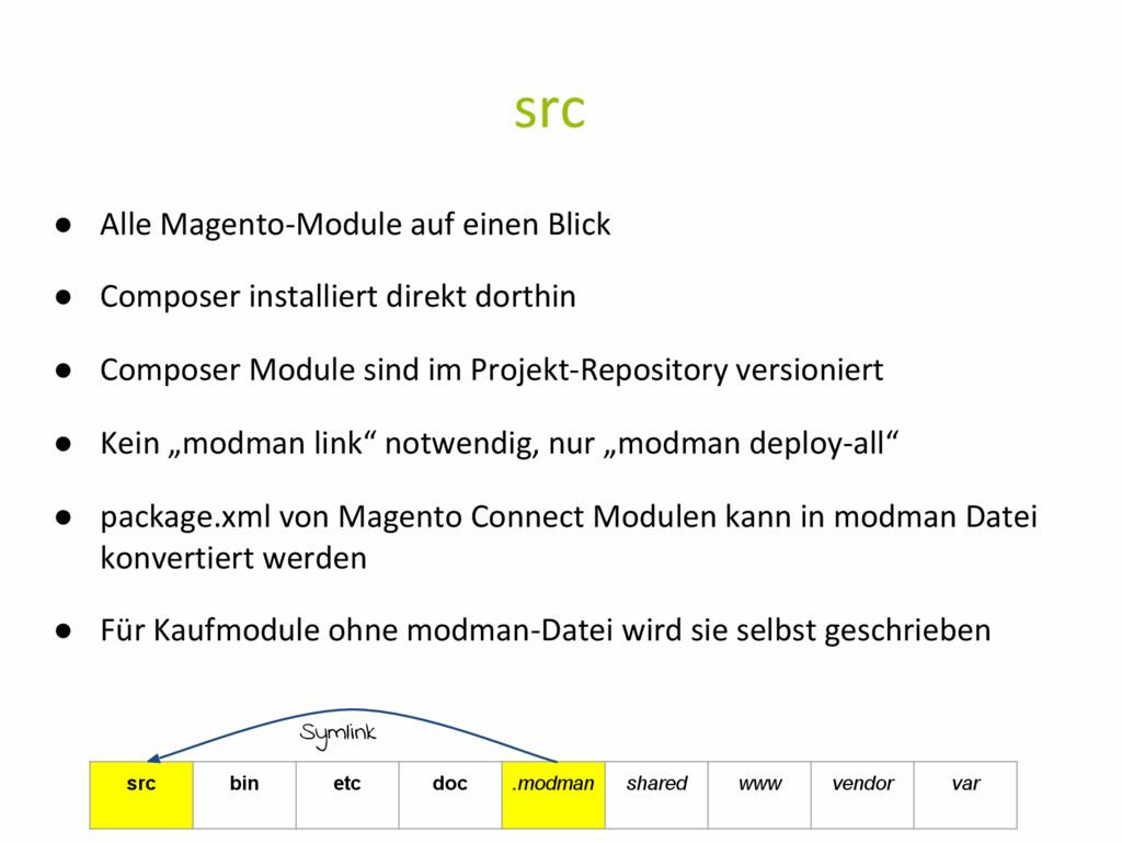 src ● Alle Magento-Module auf einen Blick ● Com...