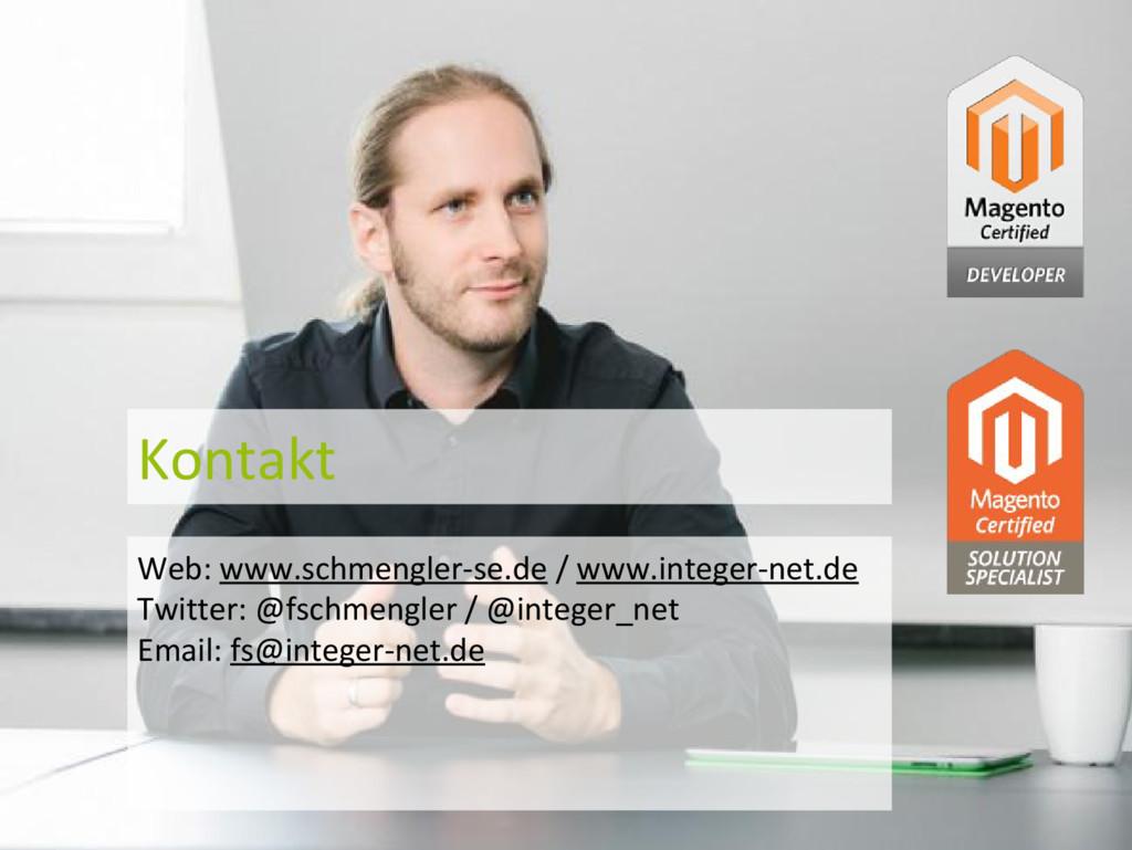 Kontakt Web: www.schmengler-se.de / www.integer...