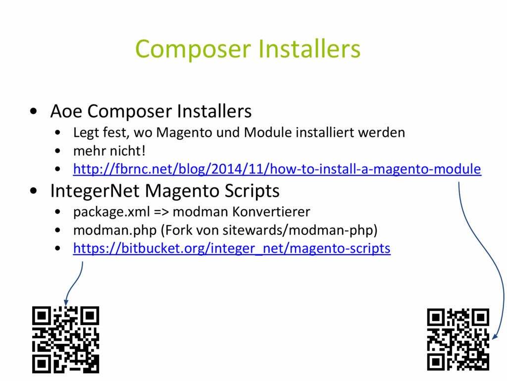 Composer Installers • Aoe Composer Installers •...