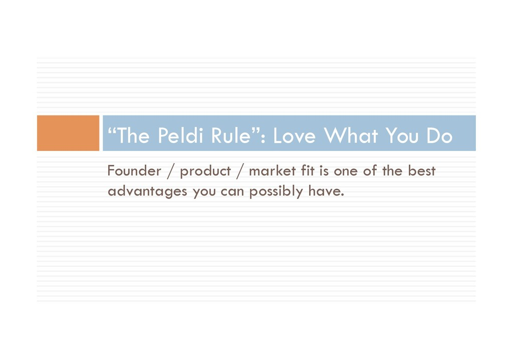 Founder / product / market fit is one of the be...