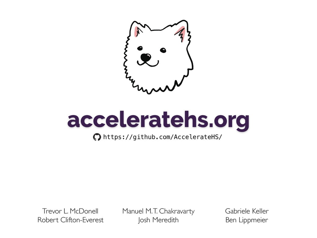 acceleratehs.org https://github.com/AccelerateH...